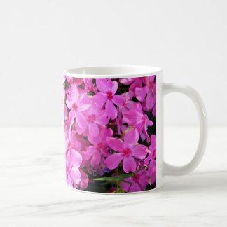 Group of Pink Phlox Coffee Mug
