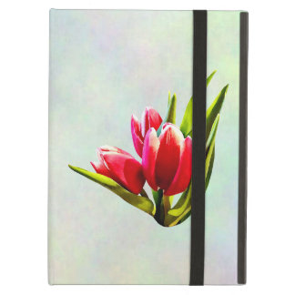 Group of Red Tulips Case For iPad Air