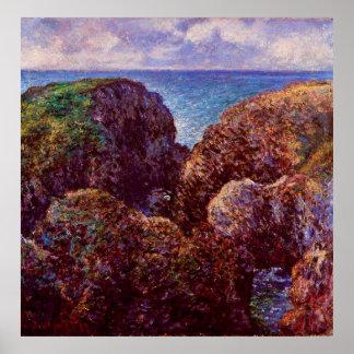Group of Rocks at Port-Goulphar,1886 Poster