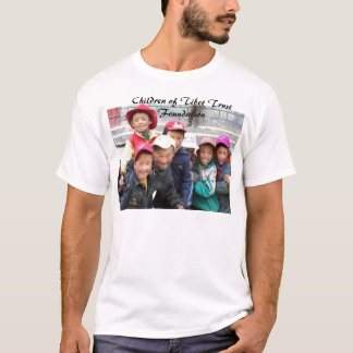 GROUP OF TIBETAN BOYS2, Children of Tibet Trust... T-Shirt