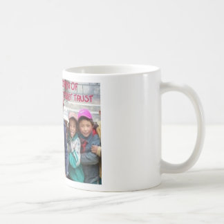 GROUP OF TIBETAN BOYS3 BASIC WHITE MUG