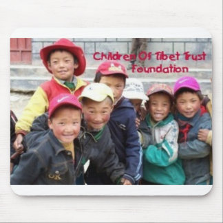 GROUP OF TIBETAN BOYS MOUSE MATS