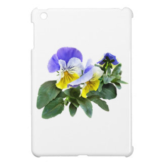 Group Of Yellow And Purple Pansies Case For The iPad Mini