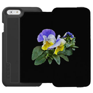 Group Of Yellow And Purple Pansies Incipio Watson™ iPhone 6 Wallet Case