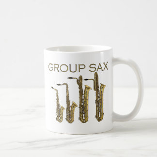 Group Sax Coffee Mug