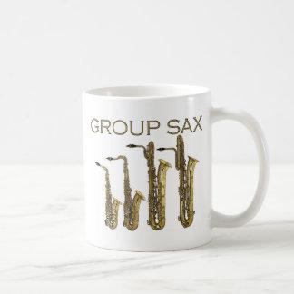 Group Sax Mug