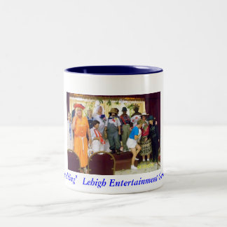 "group shot, ""Mock Wedding""   Lehigh Entertainme... Two-Tone Coffee Mug"