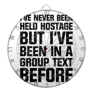 Group Text Dartboard