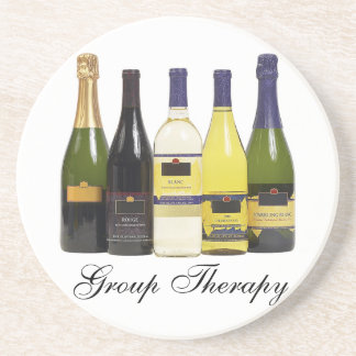 Group Therapy Wine coasters