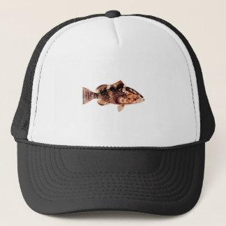 Grouper Fish Trucker Hat