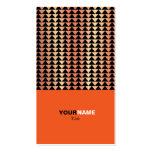 Groupon Modern Orange Pack Of Standard Business Cards