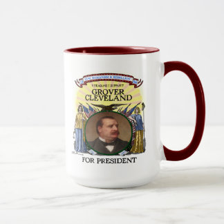 Grover Cleveland 1884 Campaign Mug