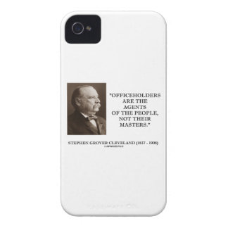 Grover Cleveland Officeholders Agents Of People iPhone 4 Case