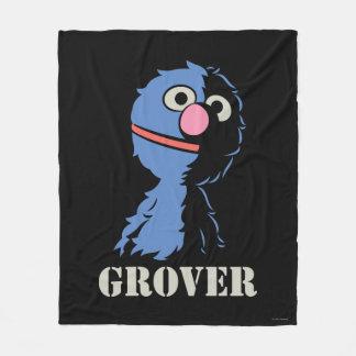 Grover Half Fleece Blanket