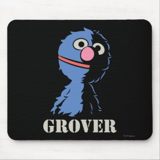 Grover Half Mouse Pad