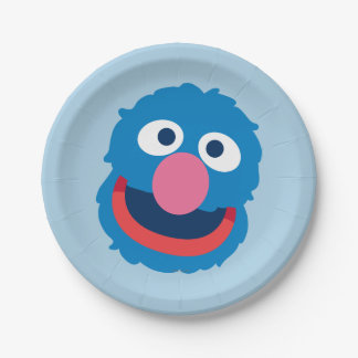 Grover Head Paper Plate