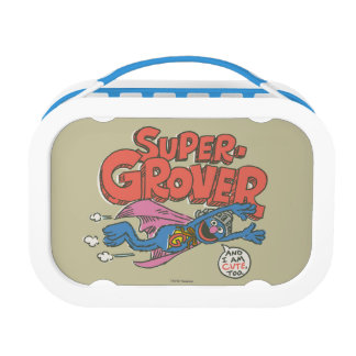 Grover Vintage Kids 1 Lunch Box