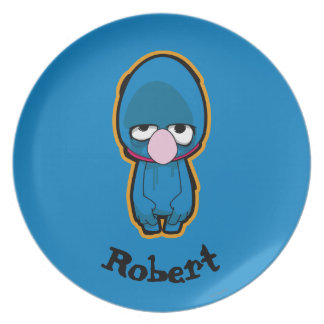 Grover Zombie Plate