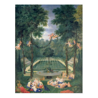 Groves of Versailles Postcard