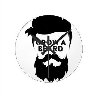 Grow a beard then we will talk round clock