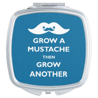 Grow a Mustache Makeup Mirror