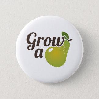 Grow A Pear 6 Cm Round Badge