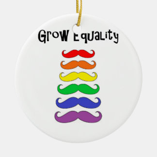 Grow Equality Ceramic Ornament