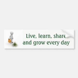 Grow Everyday Bumper Sticker