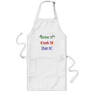 Grow it, Cook it, Eat it Long Apron