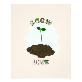 Grow love flyer