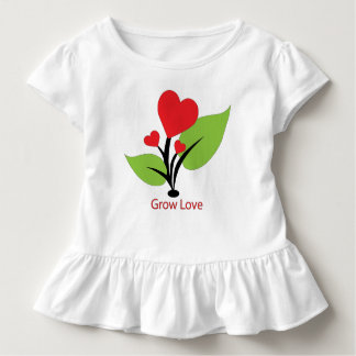 Grow Love Tee Shirt for Toddlers