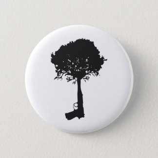 grow-peace 6 cm round badge