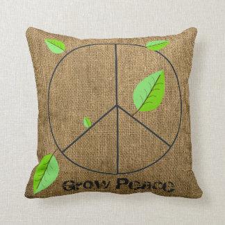 Grow Peace pillow