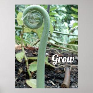 """Grow Poster (18"""" x 24"""")"""