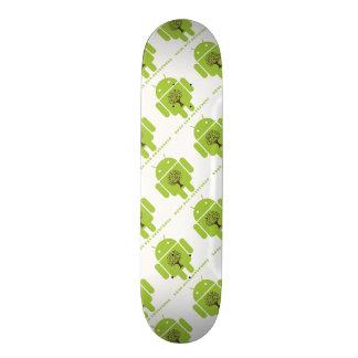 Grow The Ecosystem (Bug Droid Brown Tree) Skate Board Decks