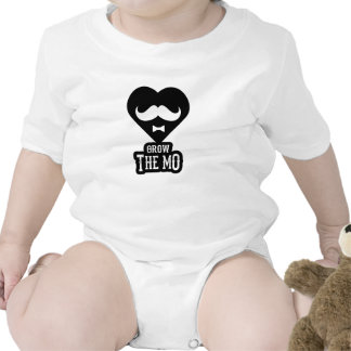 Grow The Mo - Infant Creeper - Hearts Edition