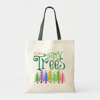 Grow the Trees: Tree Lovers Whimsical Forest Tote Bag