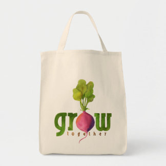 Grow Together (Radish) Tote Bag