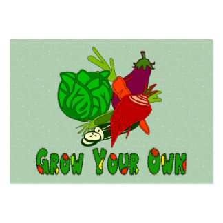 Grow Your Own Pack Of Chubby Business Cards