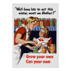 Grow Your Own, Can Your Own Poster