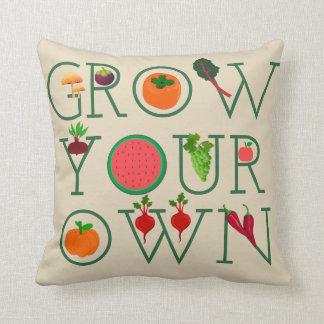 Grow Your Own Cushion
