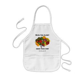 Grow Your Own, kids apron