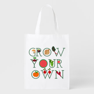 Grow Your Own Reusable Grocery Bag