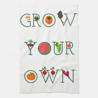Grow Your Own Tea Towel