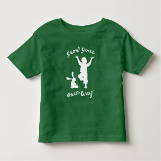 Grow Your Own Way: Yoga Inspired Creative Kids Toddler T-Shirt