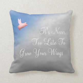 Grow Your Wings Cushion