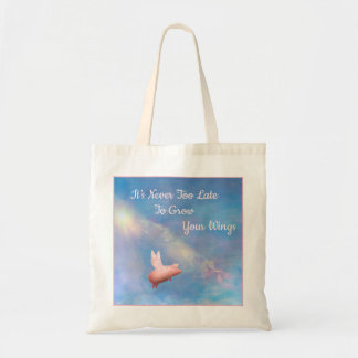 Grow Your Wings Tote Bag