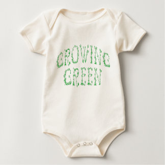 GROWING GREEN BABIES BABY BODYSUIT