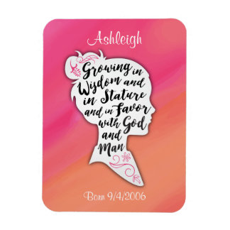 Growing in Wisdom and Favor Magnet