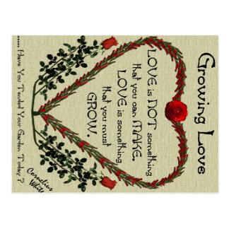 Growing Love Postcard